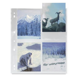 Pana-Vue Archival Pages - 6 cm × 6 cm Transparency Sleeve
