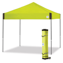E-Z Up Pyramid Shelter - Limeade, 10 ft x 10 ft