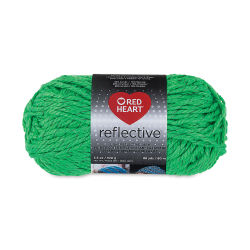 Red Heart Reflective Yarn - Neon Green