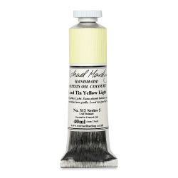 Michael Harding Artists Oil Color - Lead Tin Yellow, 40 ml tube