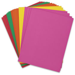 Pacon Card Stock - Bright Colors, 8-1/2'' x 11'', Pkg of 100