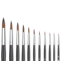 Princeton Siberia Series 7050 Natural Kolinsky Sable Brushes