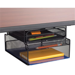 Safco Onyx Hanging Desk Organizer - Mountable