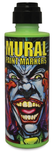 Chroma Mural Paint Markers - Slime, 4 oz Can