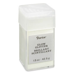 Darice Glitter - Glow-in-the-Dark, 1.5 oz