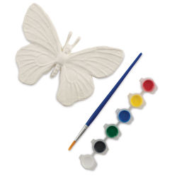 Paper Mache Piece Painting Set - Butterfly