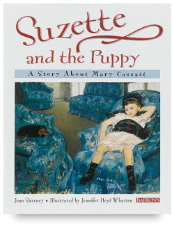 Cassatt: Suzette and the Puppy