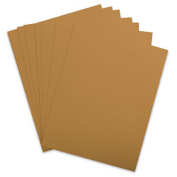Blick Stationery - Cover Paper, Antique Gold, 8-1/2'' x 11'', Pkg of 10 Sheets