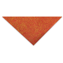 Lokta Paper - Glitter Flake, Red and Gold, 20'' x 30''