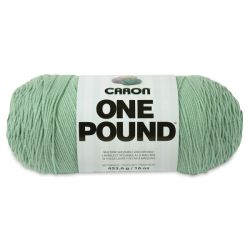 Caron One Pound Acrylic Yarn - 1 lb, 4-Ply, Soft Sage