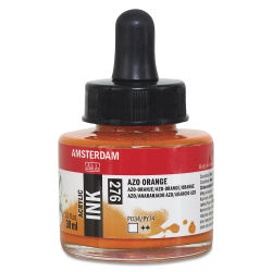 Amsterdam Acrylic Ink - Azo Orange, 30 ml