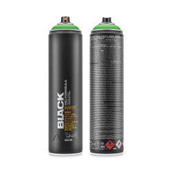 Montana Black Spray Paint - Power Green, 600 ml can