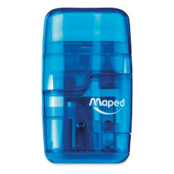 Maped Connect Duo 2-in-1 Sharpener Eraser - Blue (color may vary, please let us choose)