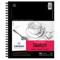 Canson Universal Sketch Pad - 12'' x 9'', Portrait, 100 Sheets