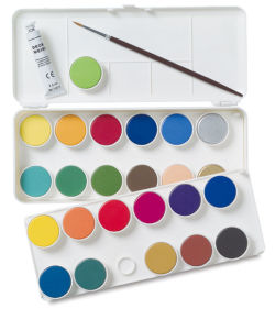 Grumbacher Watercolor Pan Sets