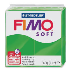 Staedtler Fimo Soft Polymer Clay - 2 oz, Tropical Green