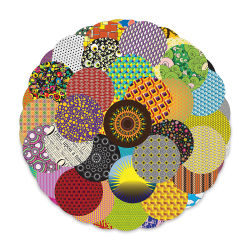 Roylco Crafty Circles - 5'' circles, Pkg of 144