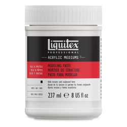 Liquitex Medium - Modeling Paste, 8 oz bottle