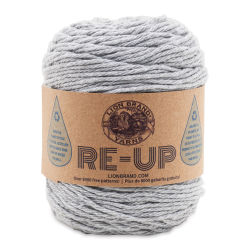 Lion Brand Re-Up Yarn - Grey