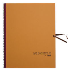 Holbein Multimedia Book - 21-1/2'' x 15'', Brown