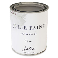 Jolie Matte Finish Paint - Linen, Quart