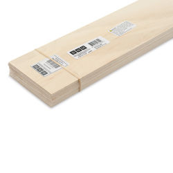 "Bud Nosen Basswood Sheets - 1/16"" x 4"" x 24"", 15 Sheets"