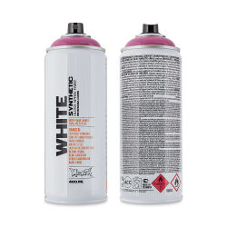Montana White Spray Paint - Phantom, 400 ml can