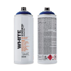 Montana White Spray Paint - Night Blue, 400 ml can