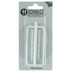 "Schulcz Scale Model Figures - Silhouette, Pkg of 18, 1:500, 1/40"" (front of package)"