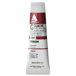 Holbein Acryla Gouache - Crimson, 20 ml tube