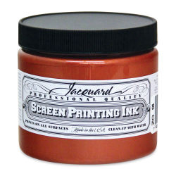 Jacquard Screen Printing Ink - Copper (Metallic), 16 oz