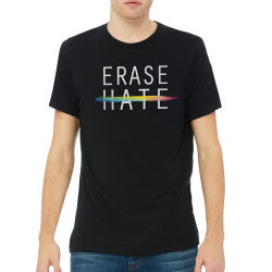 Chavez for Charity Erase Hate T-shirt - Small
