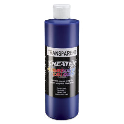 Createx Airbrush Color - 16 oz, Transparent Brite Blue