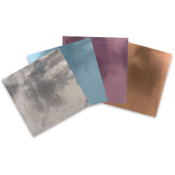 Sizzix Foil Adhesive Sheets - 6'' x 6'', Pkg of 8 Sheets