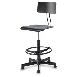 Bieffe Drafting Chair - Black