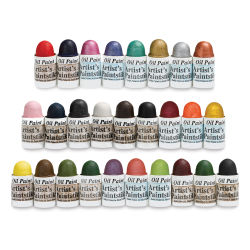 Richeson Shiva Paintstik Oils - Class Pack Set of 27 Mini Colors