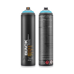 Montana Black Spray Paint - Baby Blue, 600 ml can