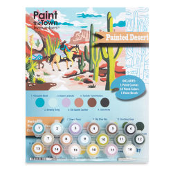Paint The Town By Numbers Painted Desert Kit