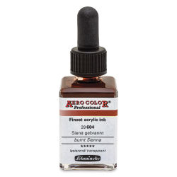 Schmincke Aero Color Professional Airbrush Color - 28 ml, Burnt Sienna