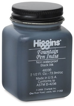 Fountain Pen India Ink