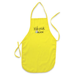 Blick Kid's Apron - Yellow, Large