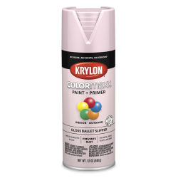 Krylon Colormaxx Spray Paint - Ballet Slipper, Gloss, 12 oz