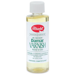 Utrecht Darmar Varnish - 4 oz bottle