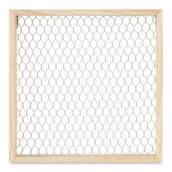 Chicken Wire Shadow Box - 12'' x 12''