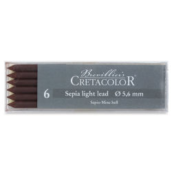 Cretacolor Lead - Sepia Light, Pkg of 6