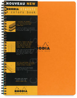 4-Color Book, 80 Sheets