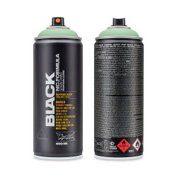 Montana Black Spray Paint - E2E Green, 400 ml can