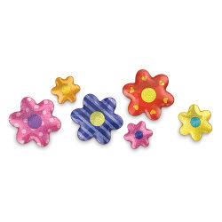 Flowers, Pkg of 37 Pieces
