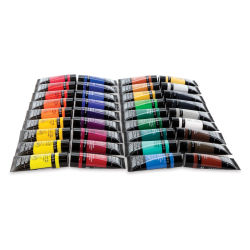 Liquitex Basics Acrylics, Set of 36, 0.75 oz