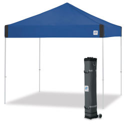 E-Z Up Pyramid Shelter - Royal Blue, 10 ft x 10 ft